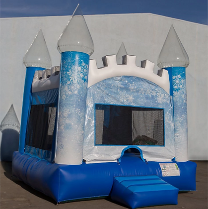 Ice Castle - Bouncy Castle