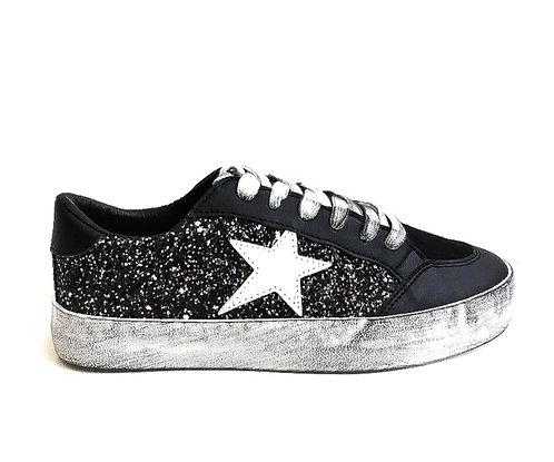 Galaxy glitter (BLACK)