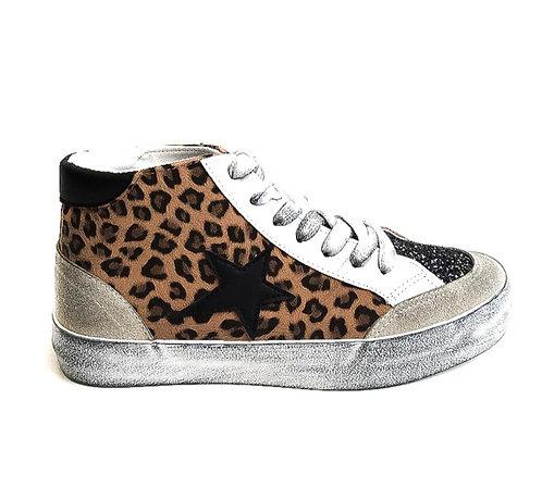 leopard glitter high tops