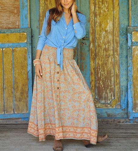 The Desert Rosé maxi skirt