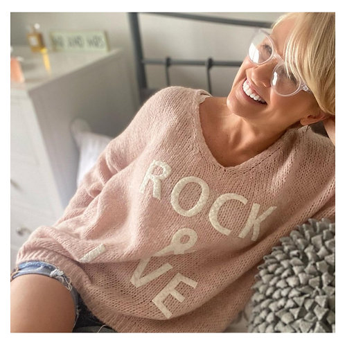 Rock & Love sweater in pink