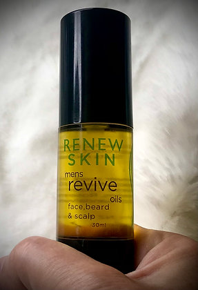 Mens Revive Oils for Face, Beard & Scalp