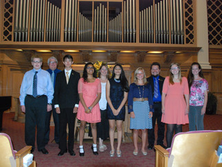 2016 Scholarship Winners' Recital