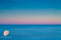 Seascape, blue & pink-186