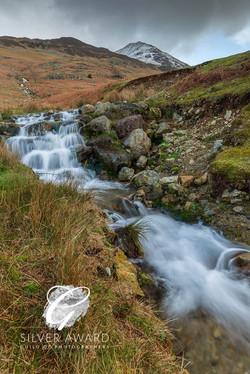 Crummock Water, waterfalls-8910