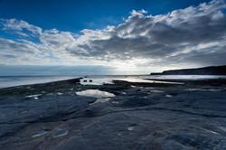 Kimmeridge Bay, sunset