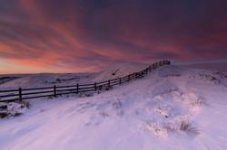 Mam Tor, Peak District, sunrise, stormy
