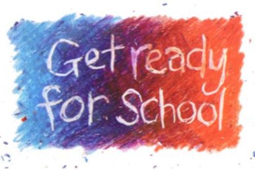 Get Ready For School DVD