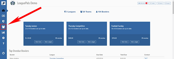 Manager Dashboard - Manage Teams.PNG