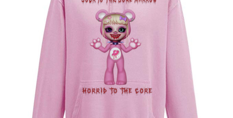 blood bear share hoodie