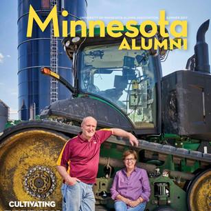 University of Minnesota Alumni Magazine: Bright Spot in a Chilly Spring