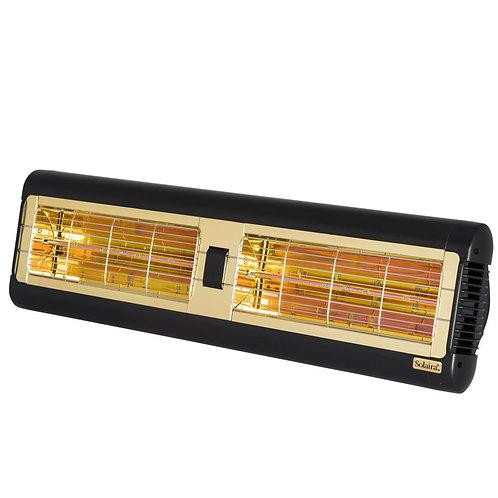 Solaira Candel Alpha Series 3000 Watt 240 Volt Electric Patio Heater - Black