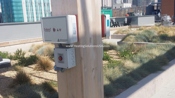 Solaira Patio Heater Controllers Installed