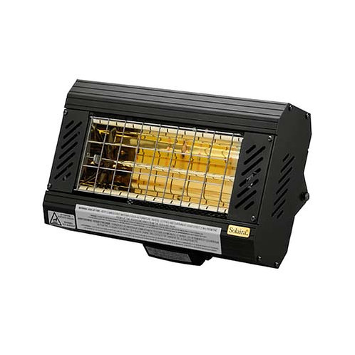Solaira ICR Series 2000 Watt, 240V Electric Patio Heater - Black