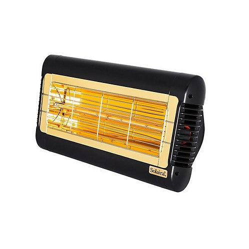 Solaira Alpha Series 1500 Watt, 240V Electric Patio Heater - Black