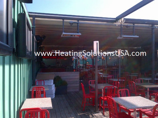 solaira alpha heaters Jerry Remys Sports Bar and Grill - Boston