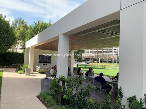 solaira ICR Series patio heaters Jamboree irvine company ca