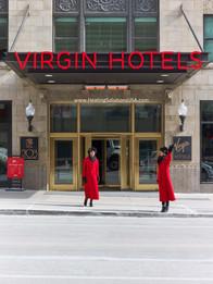 Solaira Alpha series H2 at virgin hotels