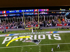 Solaira Alpha heaters at gillette stadium NFL