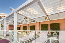 Solaira patio heaters Alpha-H1-Beverly-Hills-Hotel CA