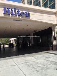 solaira patio heaters alpha HILTON Pasadena Valet