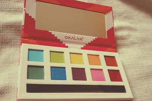 Youthful  Okalan  palette