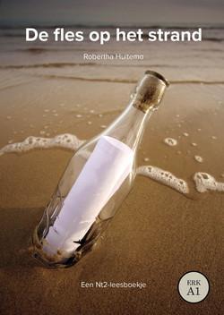 De Fles op het strand_voorkant