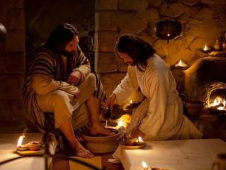 """""""Tendo amado os seus que estavam no mundo, amou-os até o fim."""" (Jo 13,1)"""