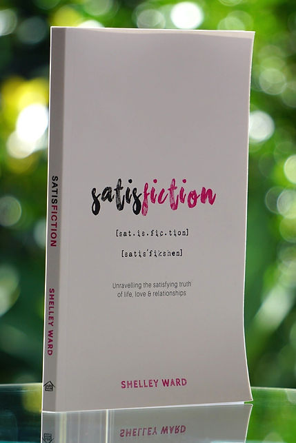 Satisfiction book (ISBN 978-0-6482914-4-2) unravelling the satisfying truth of life, love & relationships 0648291448, 9780648291442, Ark House Press