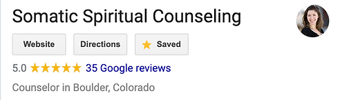 somatic spiritual counseling google revi