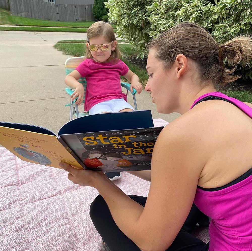 Children's Book Author Jodi Adams Reading Star In The Jar