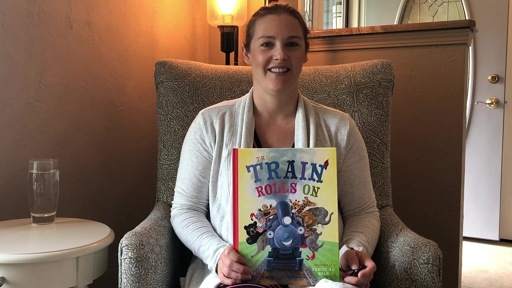Story Time with Jodi Adams - The Train Rolls On - Young At Heart Publishing