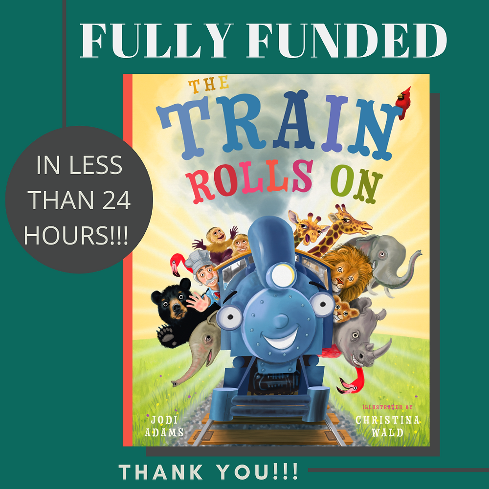 The Train Rolls On Kickstarter Campaign Fully Funded