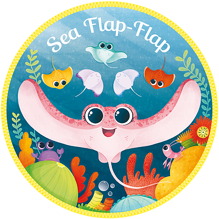 Sea Flap-Flap Logo