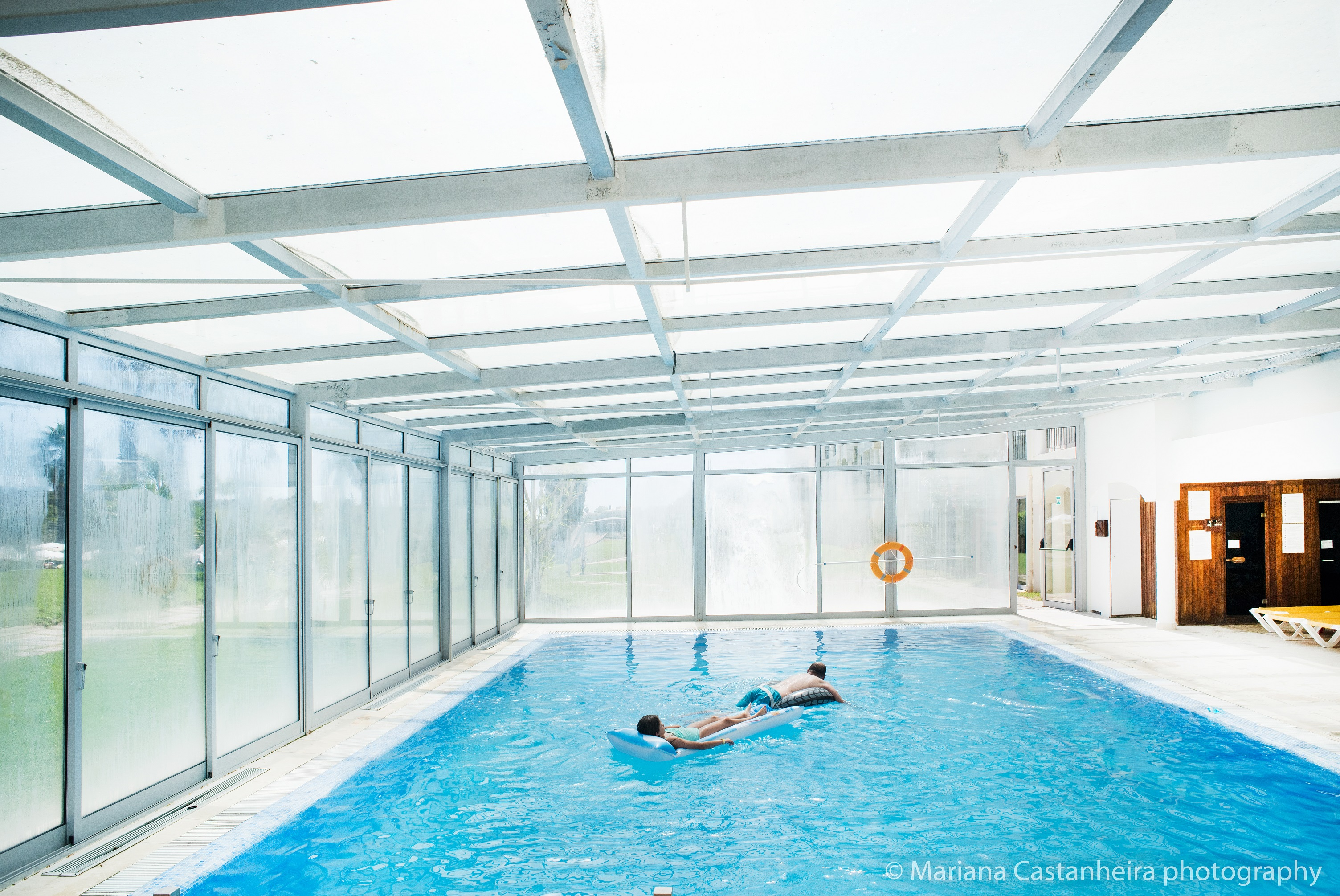 Yellow Alvor Garden - Indoor Pool