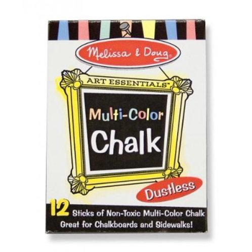 Melissa & Doug Multi-Colored Chalk Sticks