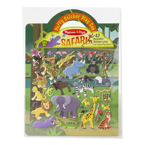 Puffy Sticker Play Set Safari