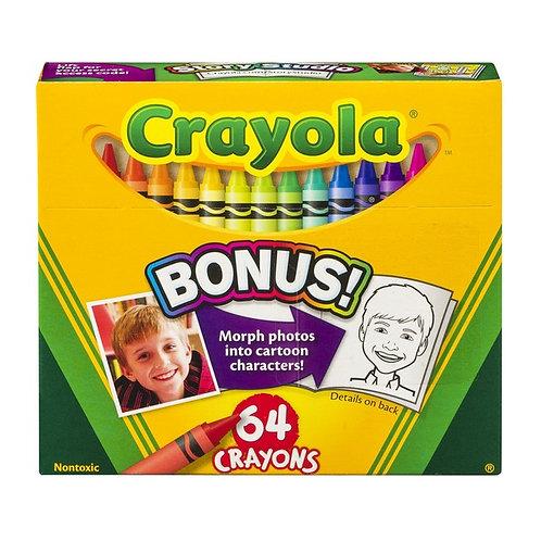 Crayola Crayons 64 Count Box