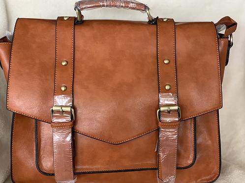 Unisex Brown Briefcase