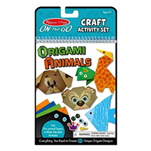 Melissa & Doug 19442 On The Go Origami Animals Craft Activity Set