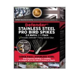 Defender Bird Spikes - Stainless Steel P
