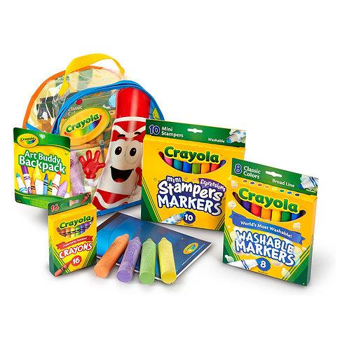 Crayola Art Supply Backpack Buddy