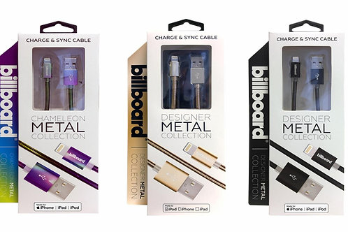 Billboard Metal Charge & Sync Cable