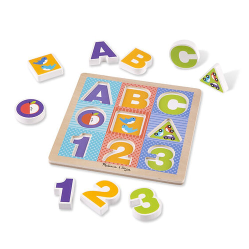 First Play Chunky Puzzle ABC - 123