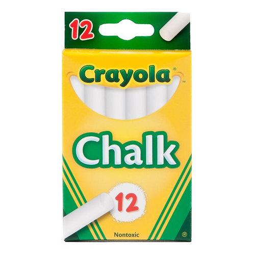 Crayola Chalk, 12 Ct white