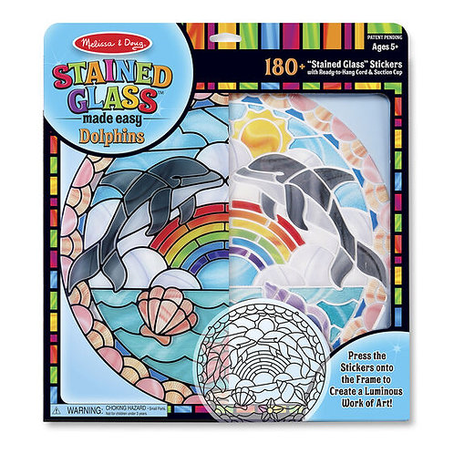 Stained Glass Dolphin Kit