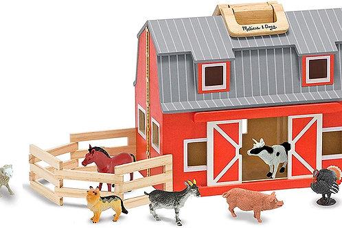 Fold & Go Wooden Barn
