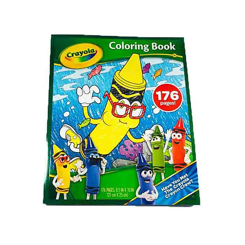 Crayola Coloring Book 176 Pages