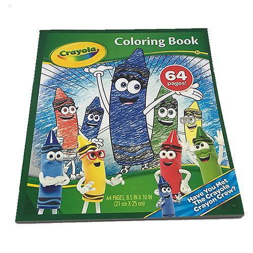 Crayola 64 Page Colouring Book