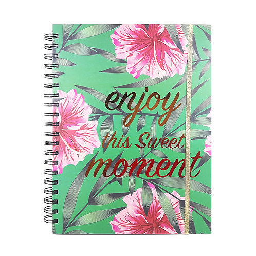 Journal Notebook Spiral 1-Subject Designs with stickers